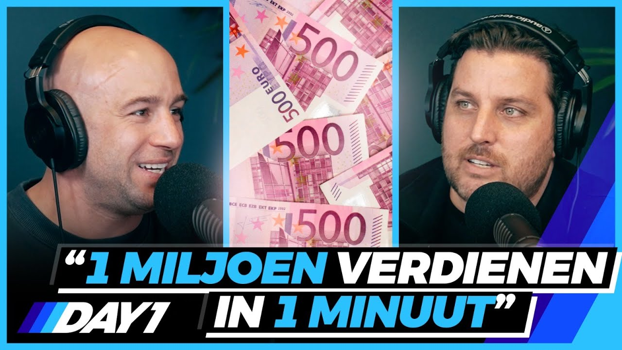 RON SIMPSON geeft 1 MILJOEN weg   Podcast   DAY1