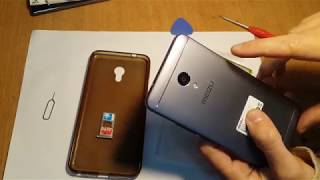 Meizu M5S замена аккумулятора BA612