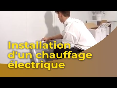 LInstallation DUn Chauffage lectrique  Youtube
