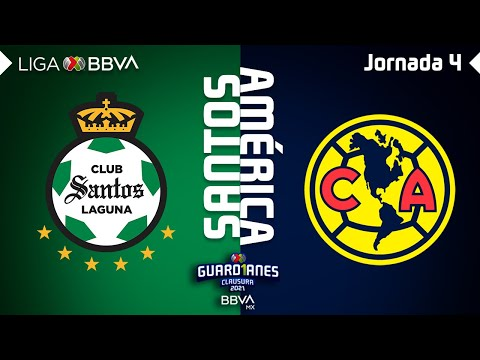 Santos Laguna Club America Goals And Highlights