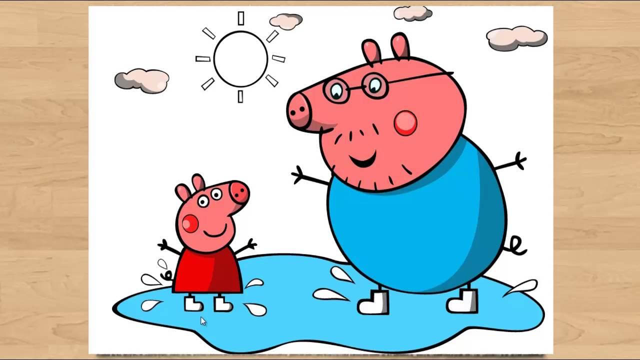 картинки папа свин