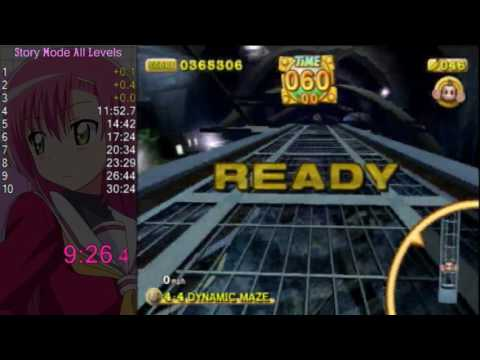 Super Monkey Ball 2 – Story Mode All Levels in 30:04 [World Record]