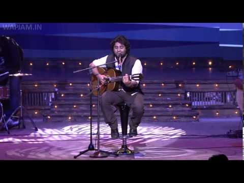 arijit singh with his soulful performance mirchi music awards hd