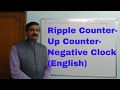 Ripple - up counter- Negative Pulse-Digital Electronics