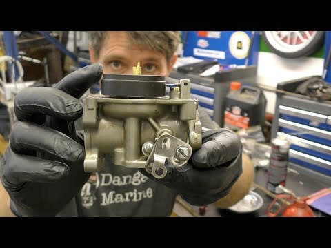 Johnson / Evinrude carburettor service