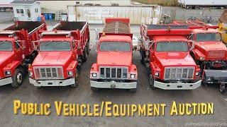 Rideau Auctions Public Vehicle / Equipment Auction
