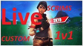 FORTNITE CUSTOM MATCHMAKING SCRIMS LIVE! XBOX, PS4 PC, SWITCH AND MOBILE PLAYERS WELCOME!