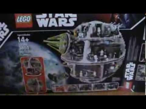 Конструктор Лего 75093 Звезда смерти | Lego Star Wars death star .