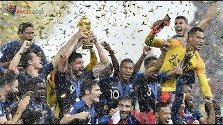 Francia es Campeón del Mundial de Rusia 2018