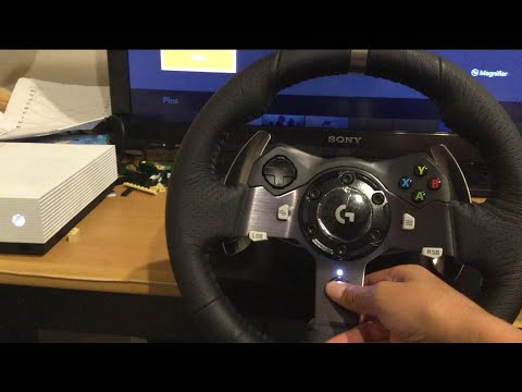 The Logitech G920 Unboxing And Gameplay With Forza Horizon 4!