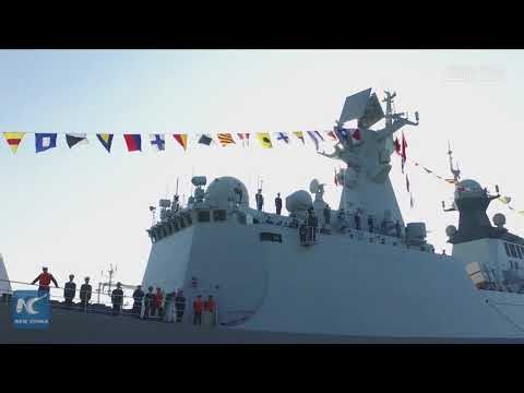Chinese naval escort fleet arrives in France for friendly visit