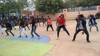 Anurag (CVSR) flash mob 2k18 @day 1