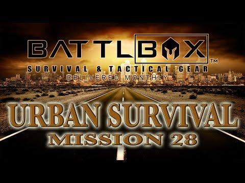 BATTLBOX MISSION 28 BREAKDOWN Urban Survival