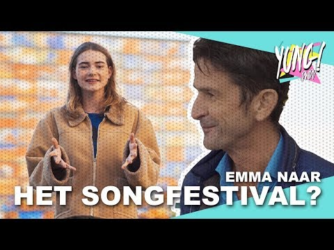 EMMA NAAR HET EUROVISION SONGFESTIVAL!   YUNG DWDD