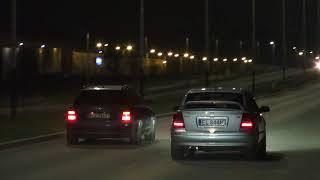 Astra 2.0T ~300km vs Audi s4 320km