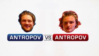 NHL Pro Vs Prospect : Antropov vs Antropov