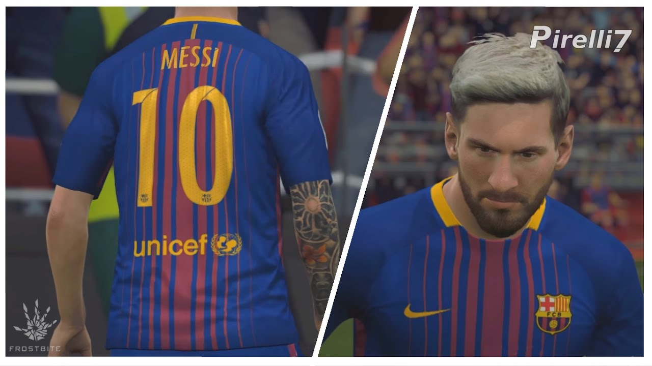 Fifa  New Kit Barcelona Leo Messi Goals Skills P Fps By Pirelli