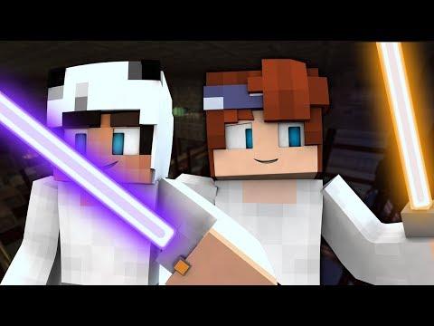MICHAEL'S LIGHTSABER? | Minecraft Space Academy II | EP 4 (STAR WARS Minecraft Roleplay)