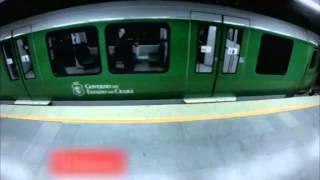 Metrodaki kadın korkudan ölüyordu