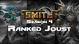 Smite - Ranked 3v3 Joust with TrelliRelli and Dave - Ra Season 4
