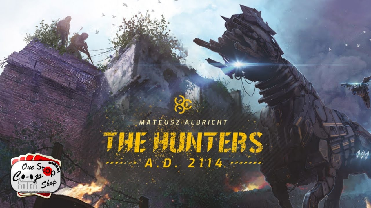 The Hunters A.D. 2114 | Playthrough | Days 1-5 | With Colin