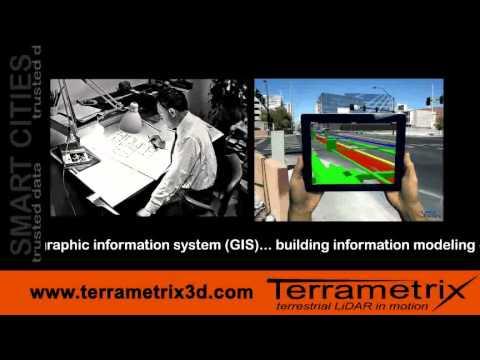 GIS SURVEY GRADE FOR SMART CITIES Terrametrix Mobile LiDAR