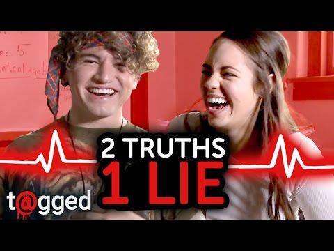 2 Truths 1 Lie W/ Jc Caylen And Claudia Sulewski   T@gged