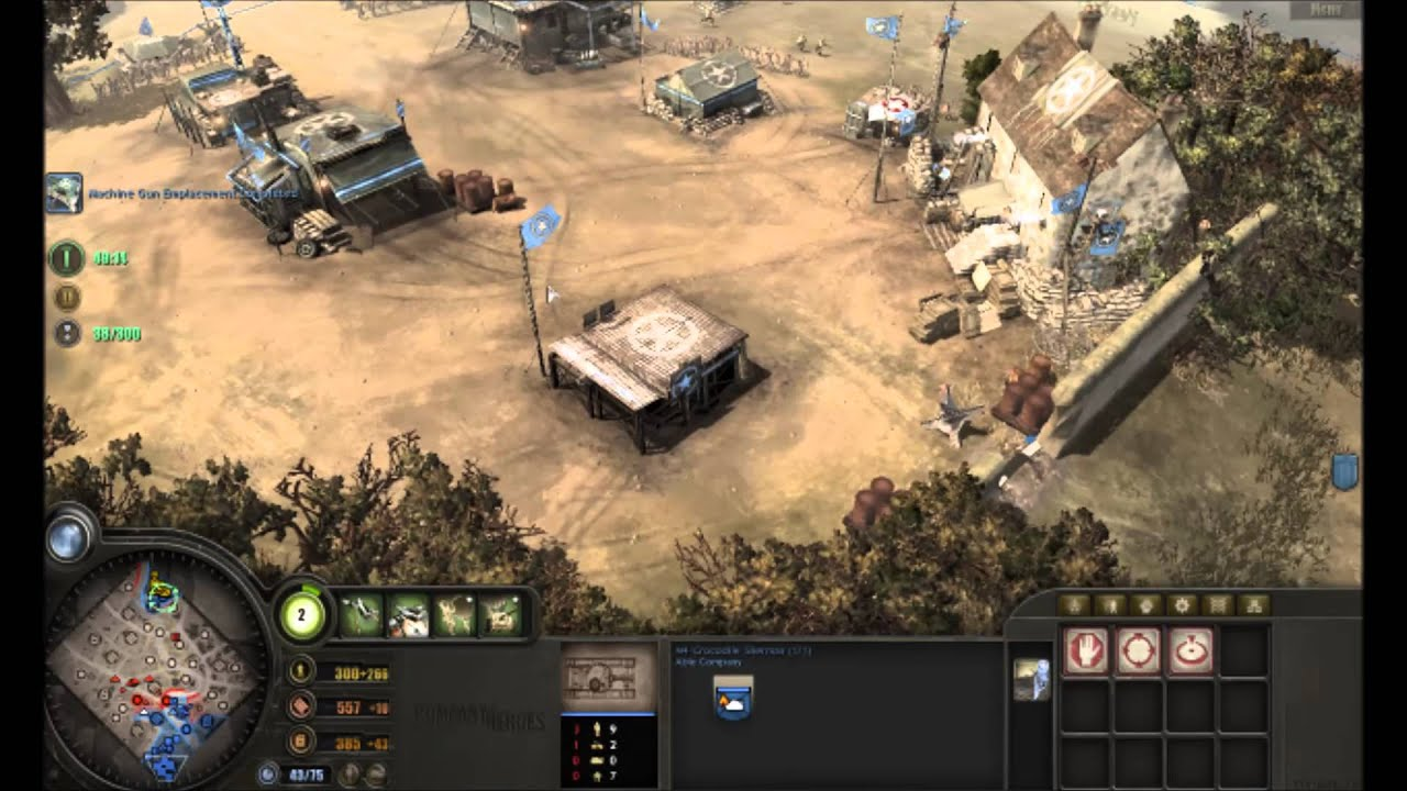 Company Of Heroes 1 Mission 15 Chambois The End Playthrough Youtube