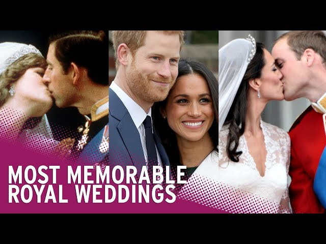 Most Memorable Royal Weddings