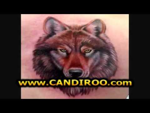 Tatuajes De Lobos Tatuajes Lobos Con Luna Youtube