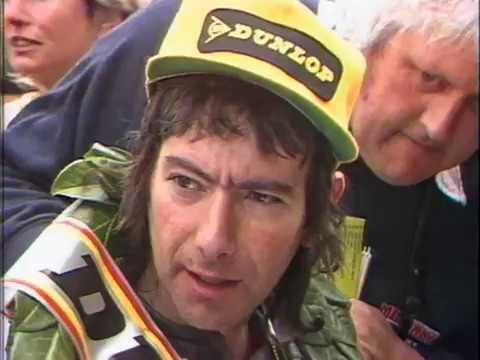 TT 1985 Joey Dunlop wins the Junior Race