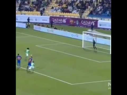 Omar abed Rahman vs Barcelona