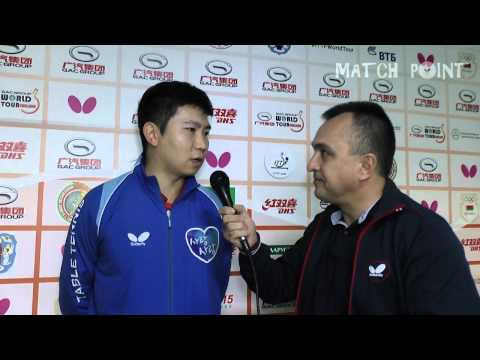RYU Seung Min. GAC Group 2015 ITTF World Tour Belarus Open. Interview
