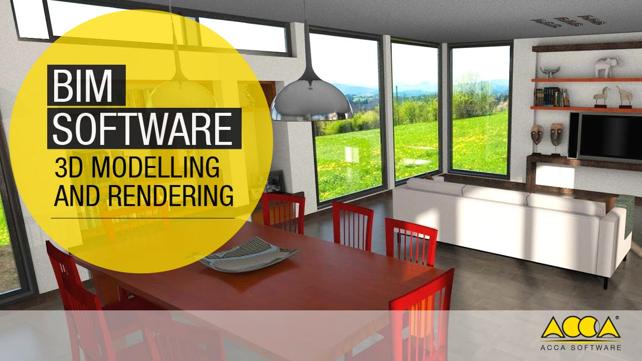 Bim Software For D Modelling And Real Time Rendering