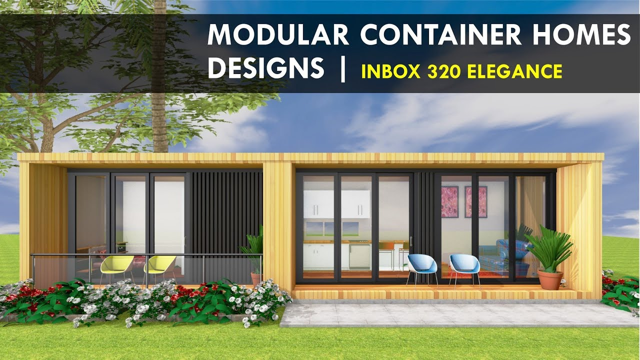 Amazing Shipping Container Modular Home Designs With Floor Plans | INBOX  320 ELEGANCE