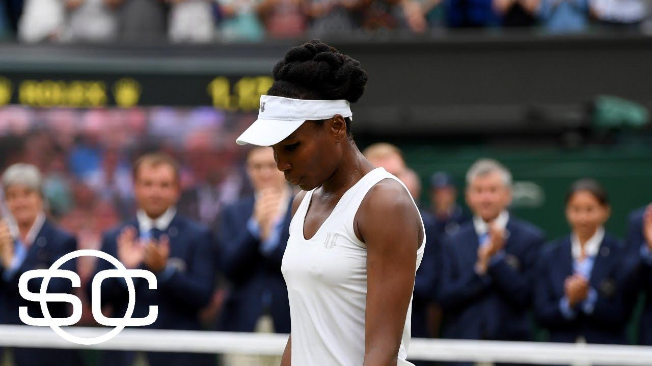 Wimbledon 2017: Venus Williams loses to Garbine Muguruza in straight sets