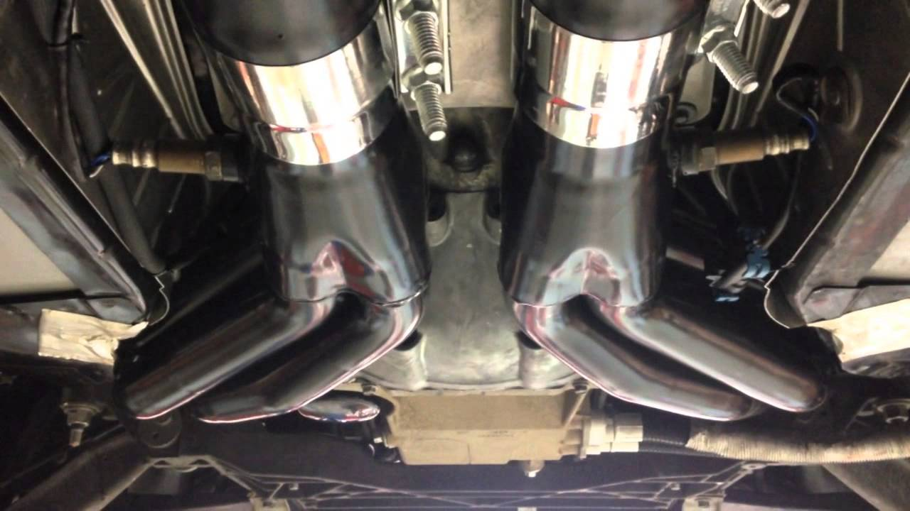 Hinson C6 Corvette Headers Install Youtube