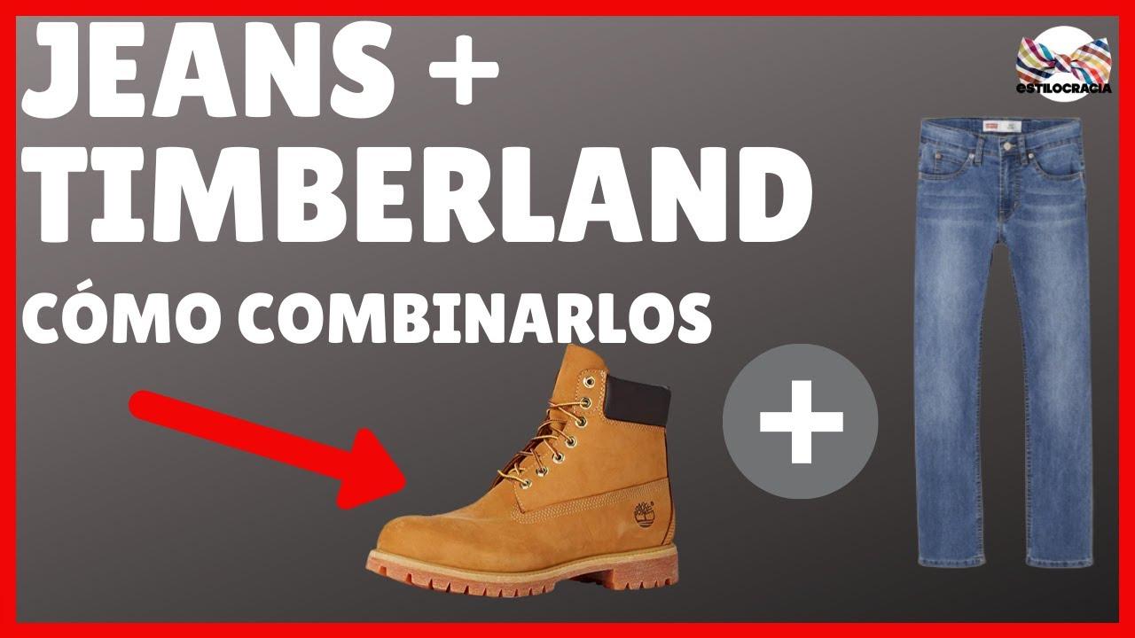 Guardia espacio periódico  JEANS con TIMBERLAND: ¿cómo COMBINARLOS BIEN? - YouTube