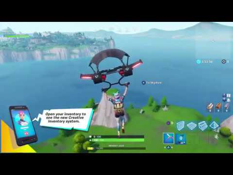 Fortnite Season 7 Creative Mode Gameplay Youtube