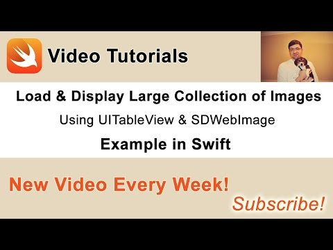Display Large Collection of Images in UITableView with SDWebImage