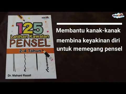 Buku 125 Latihan Kawalan Pensel