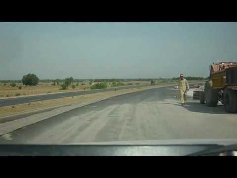 Pakistan M1 Ghourgushti Motorway Junction