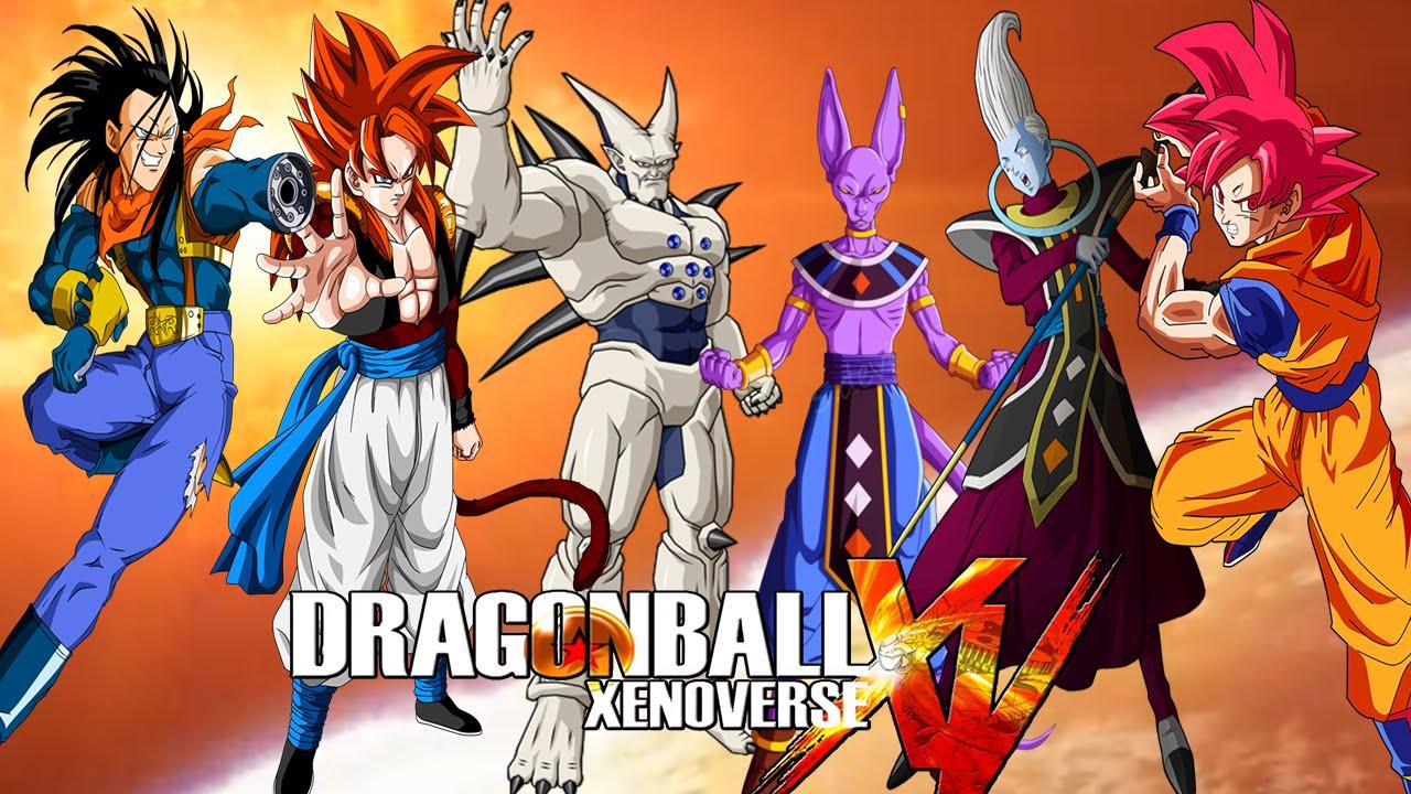 Dragon ball xenoverse omega shenron ssj4 gogeta super 17 - Dragon ball xenoverse ss4 vegeta ...