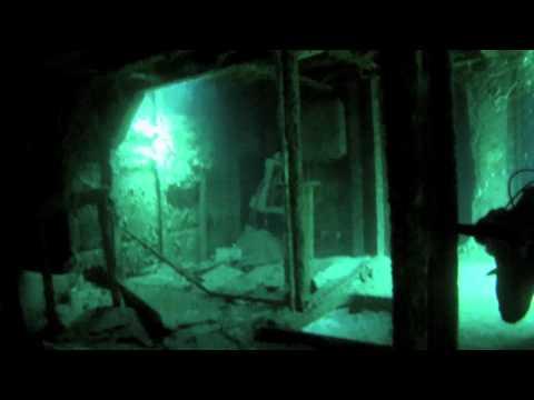Sunken Ship Scuba Dive GoPro Hero 3 Can Cun