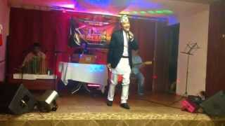 Nepali Loke Dohori Singer Milan Lama in New York.