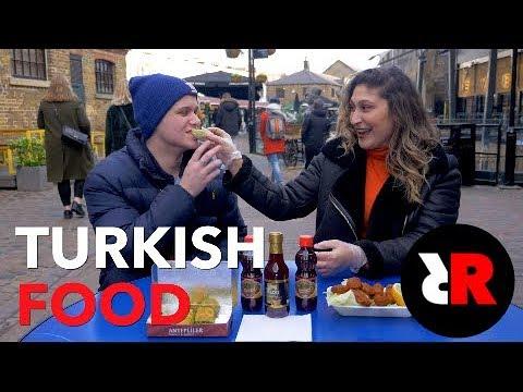 Microphone - Turkish Food reaction video UK 1.0 : Londra Türk Yemekleri hakkında neler düşünüyor?