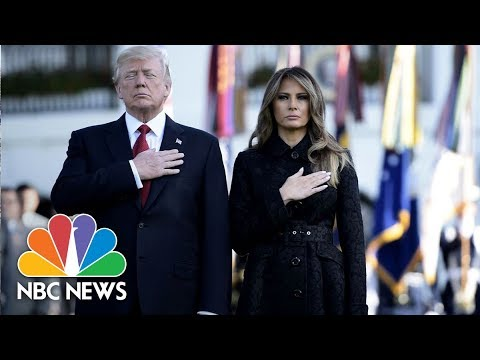President Donald Trump and VP Mike Pence Speak At Ceremonies Marking 9/11 Anniversary | NBC News