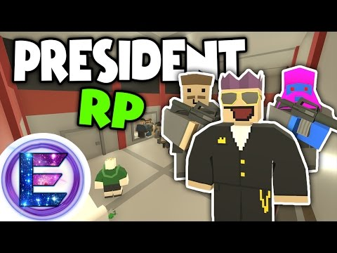 PRESIDENT RP - CITY HALL UNDER ATTACK! - Save the civilians - Unturned RP