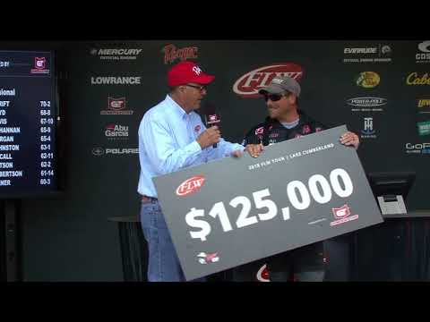 FLW Tour | Lake Cumberland | Winning Moment