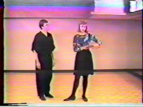Margaret Batiuchok (danceMB.com) demos clips from 1980s 1990s - Frankie, Charlie, Sonny, Ryan